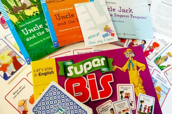 Czytaj graj i ucz się angielskiego!