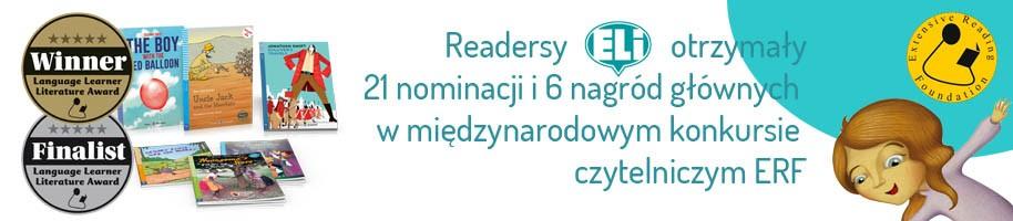 Od 2012 roku readersy ELI otrzymały 21 niminacji i 6 nagród głównych w konkursie Extensive Reading Awards